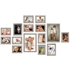 Frame Wall Collage, Frame Wall Decor, Photo Wall Collage, Frames On Wall, Photo Wall Decor, Picture Frame Decor, Picture Wall, Photo Arrangements On Wall, Family Pictures On Wall