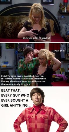 How to win at gift giving. Big Bang Theory