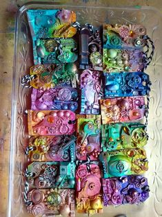 Keychains, Tags, Upcycle, Keychains, Upcycle, Steampunk, Tags, Key Hangers, Key Fobs, Upcycling, Repurpose, Porte Clef