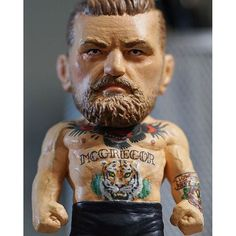 ACTION FIGURE of Conor McGregor : if you love #MMA, you'll love the #UFC & #MixedMartialArts inspired fashion at CageCult: http://cagecult.com/mma