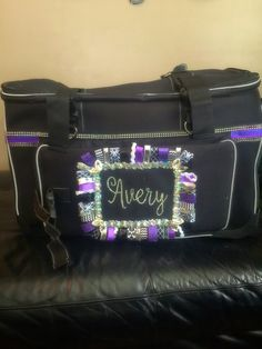 Makeup Art Box In A Re Used Rolling Suitcase Via Dream