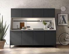 Kompakte Modulküche - Hängende und stehende Modelle