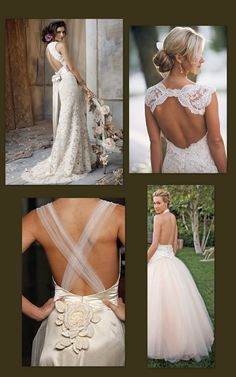 How To Backless Wedding Dress