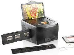 Somikon 3in1-Dia-Foto-& Negativ-Scanner SD-1340.S + Photomizer Scan