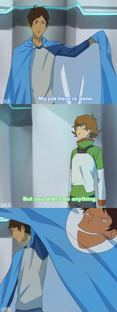 I know I pinned this aleady but its too beautiful to let it pass xD Lance | Pidge XD