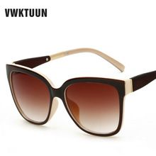 e80860271 VWKTUUN Vintage Sunglasses Mulheres Marca Designer Outdoor Óculos Oversized  Óculos de Sol Para as mulheres óculos
