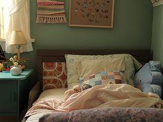 Posie Gets Cozy: Squid Fail Room Ideas Bedroom, Home Bedroom, Bedroom Decor, Bedrooms, Dream Rooms, Dream Bedroom, Future House, Cozy Room, Aesthetic Bedroom