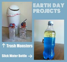 Ready-Set-Read: Book Review: Earth Day Crafts (and an Earth Day Blog Hop)