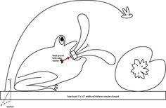 Free Patterns and ideas: Frog whirligig weathervane