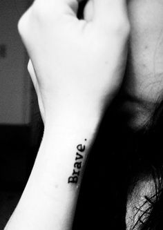 Image result for be brave tattoo