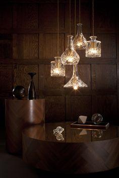 Decanter Lights - Decanterlight Chandelier | #LeeBroom