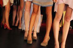 Fashion week - say it with legs