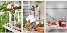 bouwen aan een warm nest: Brocante tuin