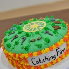 Catching fire arena cake! I just love that! Tick tock this is a clock!!!!
