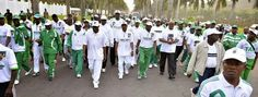 Ekpo Esito Blog: Official photos from the Nigerian sportsmen and wo...