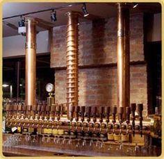 Berlin 24 Copper Draft Beer Tower