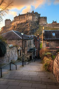 Edinburgh, Scotland (by David Curry)