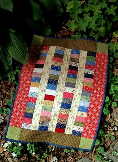 Charming Coins doll quilt from book Remembering Adelia by Kathleen Tracy www.countrylanequilts.com