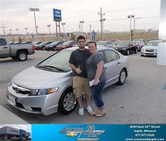 #HappyAnniversary to Freida Doty on your 2009 #Honda #Civic from Michael Graninger  and everyone at Crossroads Chevrolet Cadillac!