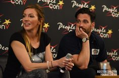 Katie Cassidy et Colin Donnell – Panel Super Heroes Con 2