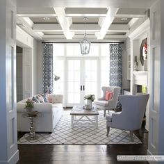 One Room Spring Tour – formal living room!April 2016 by Erin Leave a Comment New Living Room, Formal Living Rooms, My New Room, Home And Living, Living Room Setup, Sitting Room Decor, Classy Living Room, Dining Room, Sitting Rooms