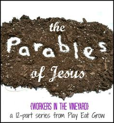 A little dramatic play can go a long way in explaining this parable of the vineyard workers to young kids. Plus an easy craft and snack to go along with it!