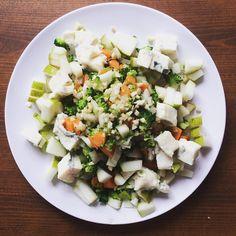 #beautiful #brokoli #brokolisalad #salad #lowcarb #lowfat #healthy #carrots #fennel #tasteslikeheaven