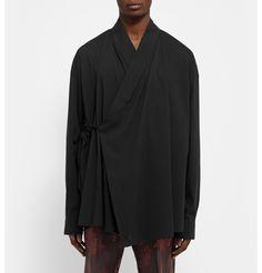 Haider Ackermann Cotton Kimono Shirt