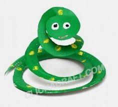 Поделка змея - Сайт для мам малышей