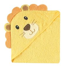 Great deal on Luvable Friends - Baby Animal Face Hooded Towel. Luvable Friends Animal Face Hooded Towel is made of cotton terry and comes in several adorable choices. The bath towel is generously sized, super soft and absorbent, and machine washable. Baby Stuffed Animals, Baby Animals, Lion Toys, Baby Aspen, Baby Vision, Hooded Bath Towels, Baby Kids, Baby Boy, Baby Towel