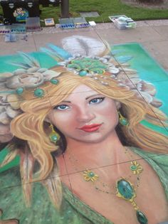 Clearwater Florida Chalk Festival 2013 -Lee Mobley Clearwater Tampa, Chalk Festival, Beautiful Mermaid, Amazing Street Art, Gulf Of Mexico, Mermaid Art, Chalk Art, Coast, Princess Zelda