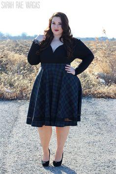 Plus size blogger sarah rae vargas