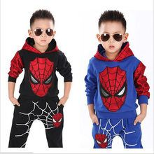 2017 Marvel Comic Classic Spiderman Child Costume Sports suit 2 pieces set Tracksuits boys Clothing sets Coat+Pant for years Kids Costumes Boys, Kids Clothes Boys, Kids Pants, Toddler Boy Outfits, Children Clothing, Clothing Sets, Ebay Clothing, Sports Costumes, Children Suit