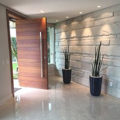 Modern House Interior Entrance Ideas For 2019 Door Design Interior, Main Door Design, Entrance Design, Front Door Design, House Door Design, Wood Interior Doors, Modern Entrance Door, Home Entrance Decor, House Entrance