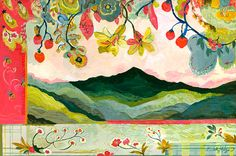 Mt. Pisgah Giclee Canvas Print 16 x 24 24 x by GoldfishMarmalade