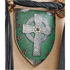 Legendary Shield of Faith - Medieval Style Celtic Battle Shield Wall Decor