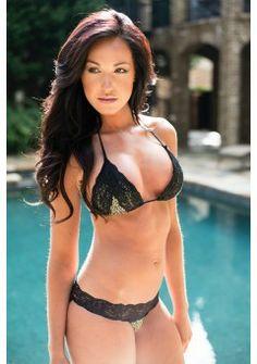 Leopard & Lace Bikini. Swimwear/lingeries