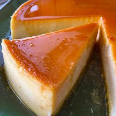 5-Ingredient Homemade Flan Recipe - This easy homemade flan recipe is a great end to any meal. The creamy caramel sauce over the silky custard is a real treat. best dessert ever!