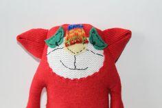 SALE 10% OFF Monkey toy.Stuffed Toy .Animal by HandMadeVinga