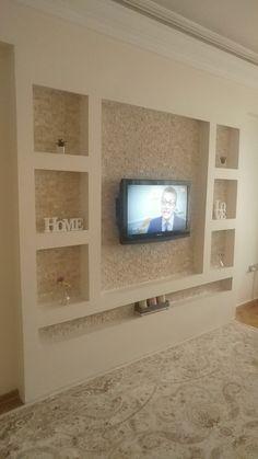 Master Bedroom Design, Home Decor Bedroom, Living Room Decor, Tv Unit Decor, Tv Wall Decor, Lcd Wall Design, Ceiling Design, Tv Unit Furniture, Living Room Tv Unit Designs