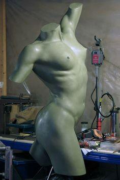 Nick Bibby sculpt