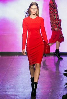 Hot Pink Color #Dress #Fashion #Trend for 2014 | DKNY _ More inspiration at: http://www.valenciamindfulnessretreat.org