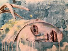 Painting by artist Kim Johnson
