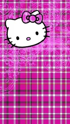 HELLO KITTY, IPHONE WALLPAPER BACKGROUND