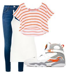 """""""Everyday orange"""" by urobinson on Polyvore featuring Frame Denim, Oasis, Rebecca Minkoff and Retrò"""