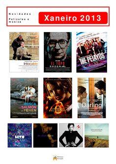 Cine e música incorporado á colección da Biblioteca Os Rosales en xaneiro de 2013.