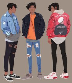 legs by khovii on DeviantArt - Trend Character Design Feminino 2019 Boy Character, Character Outfits, Character Drawing, Character Illustration, Male Character Design, Boy Drawing, Drawing Faces, Drawing Tips, Drawing Clothes