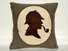 Sherlock Holmes Pillow