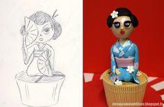 Concours de Cupcakes Expo Tarta 2013 : Cupcakes Japonais
