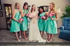 Fun bridal party photo! #wedding #ido